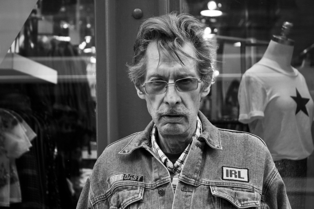 Toronto man in jean jacket