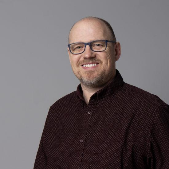 Dave Kydd profile shot