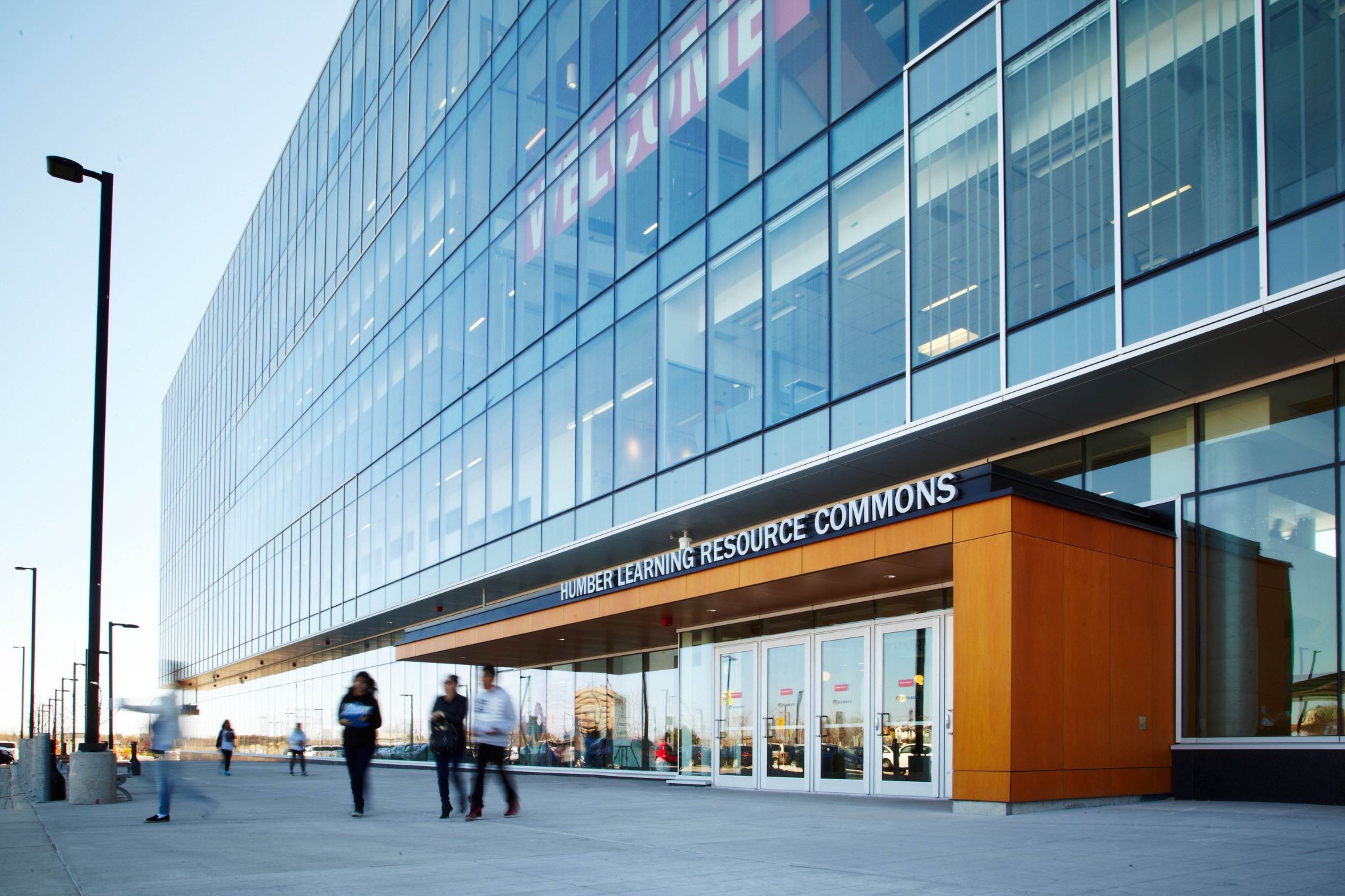 Humber College Learning Resource Commons building