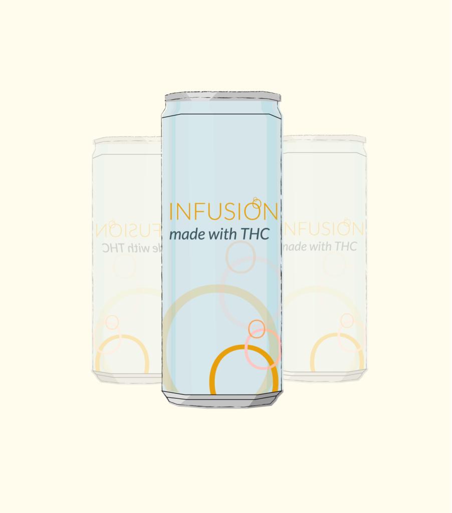 illustration of infused drinks